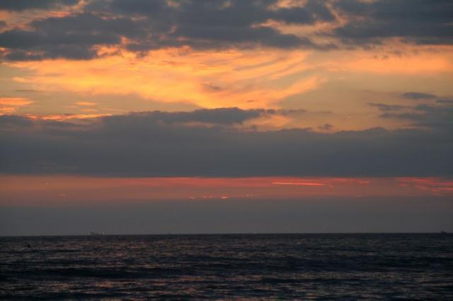 Foto luigi Boschi - Tramonto sul mare a Marina di Massa