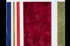 Sbavature (agosto 2006), 50x150 olio su tela