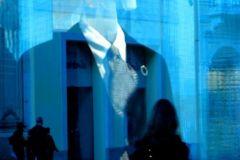 serata in blu