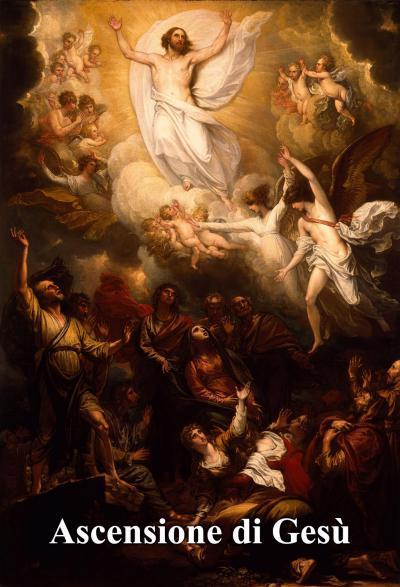 16 maggio: ascesa corporea di Gesù al cielo