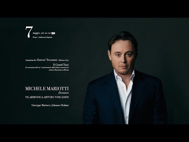 Brahms, Martucci:Michele Mariotti dirige la Sinfonica Toscanini