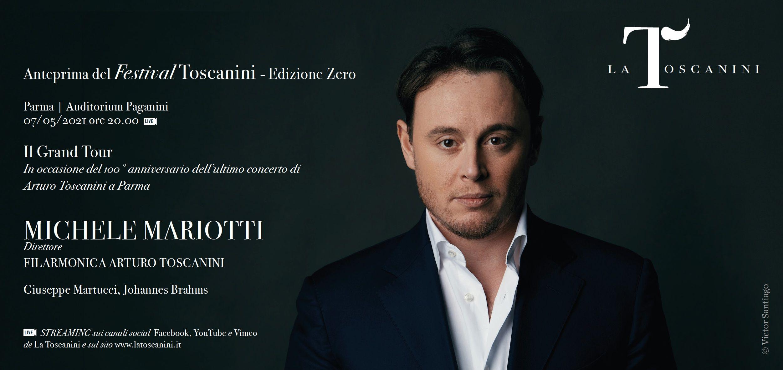 Michele Mariotti con la Filarmonica Toscanini inaugura il Festival Toscaniniche avrà luogo dal7 al 21 giugno 2021.