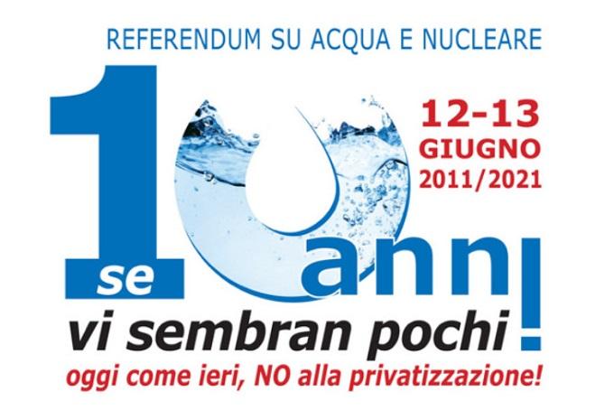 Parma, Presidio su acqua pubblica e beni comuni,SABATO 12 giugno h.10,30 inpiazzaGaribaldi