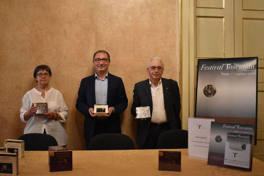 Donata la collezione Tarasconi alla Fondazione Toscanini