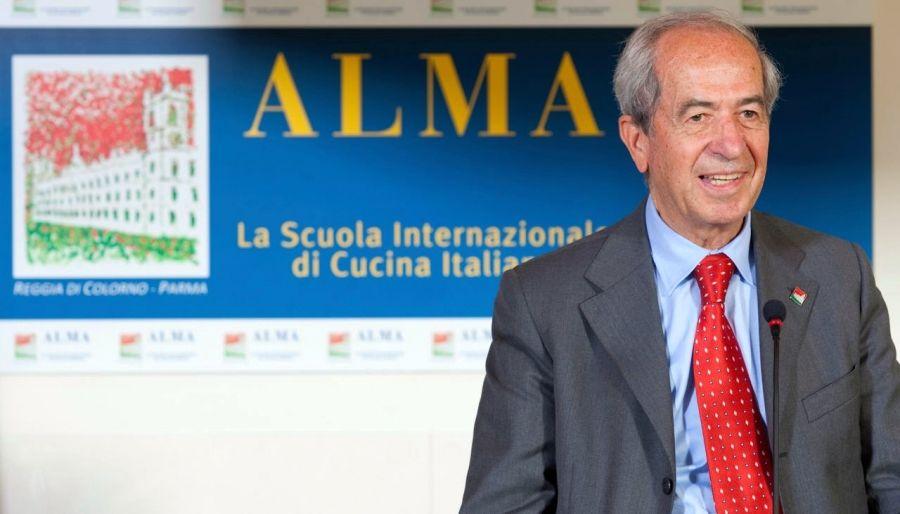 Albino Ivardi Ganapini professore ad honorem dell'Università di Parma