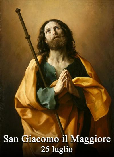 25 luglio: San Giacomo il Maggiore apostolo