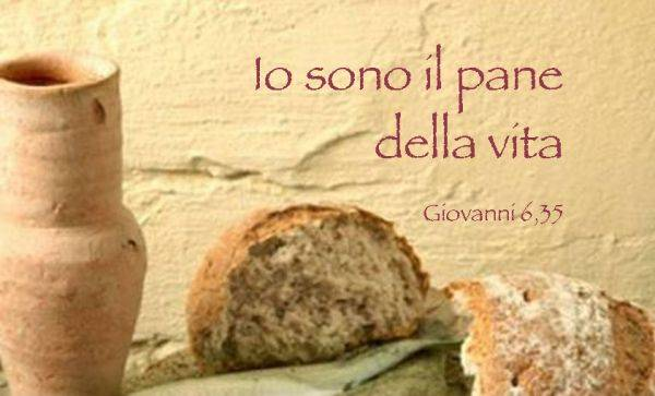 Commento sul Vangelo di pèadre Enzo Bianchi: Gesù è pane che dà vita